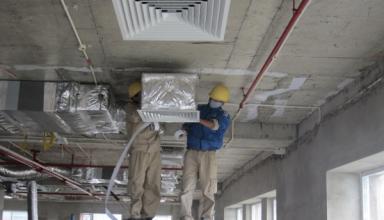 thi công hệ thống điện lạnh