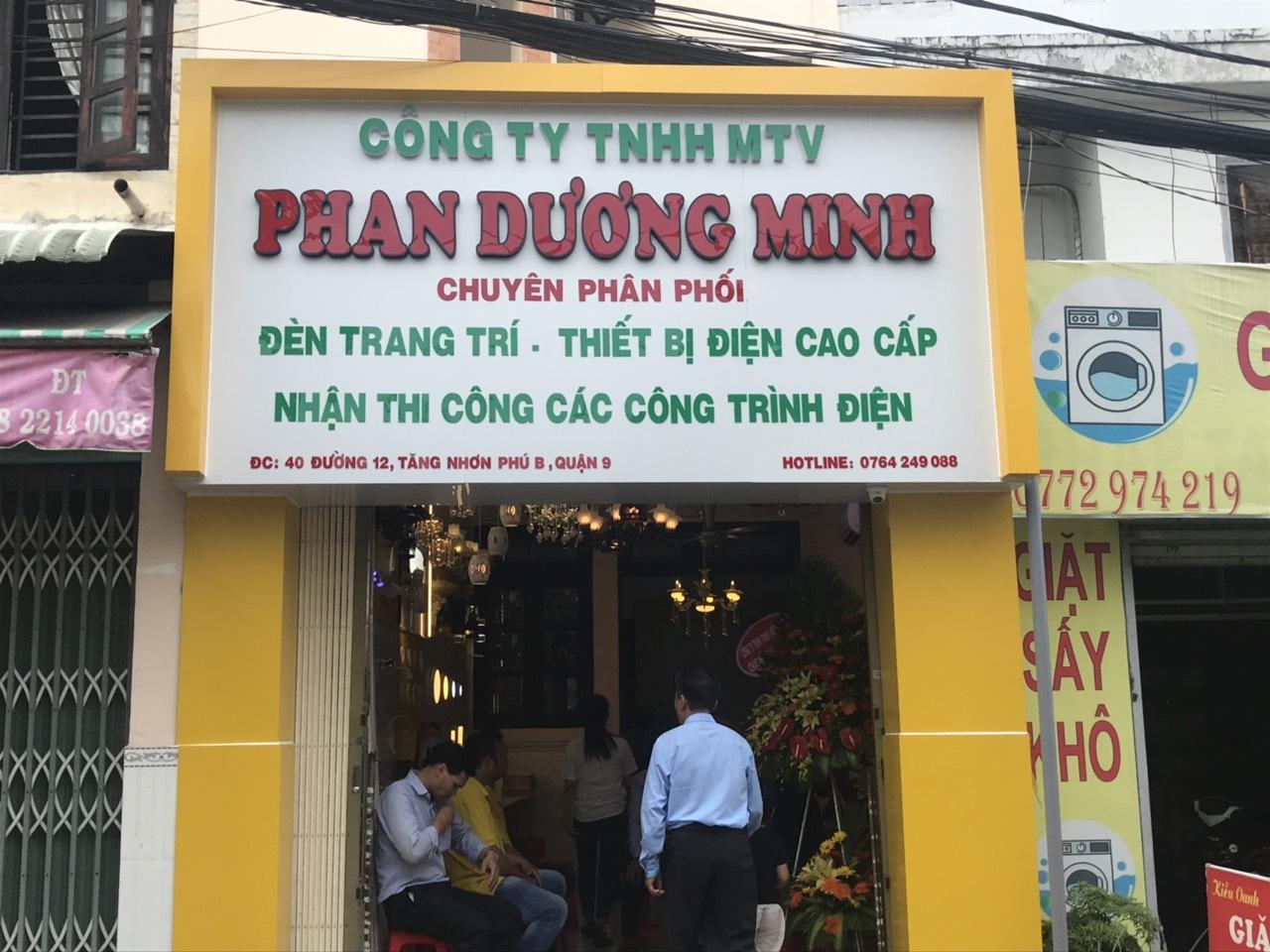 Shop điện nước Phan Dương Minh